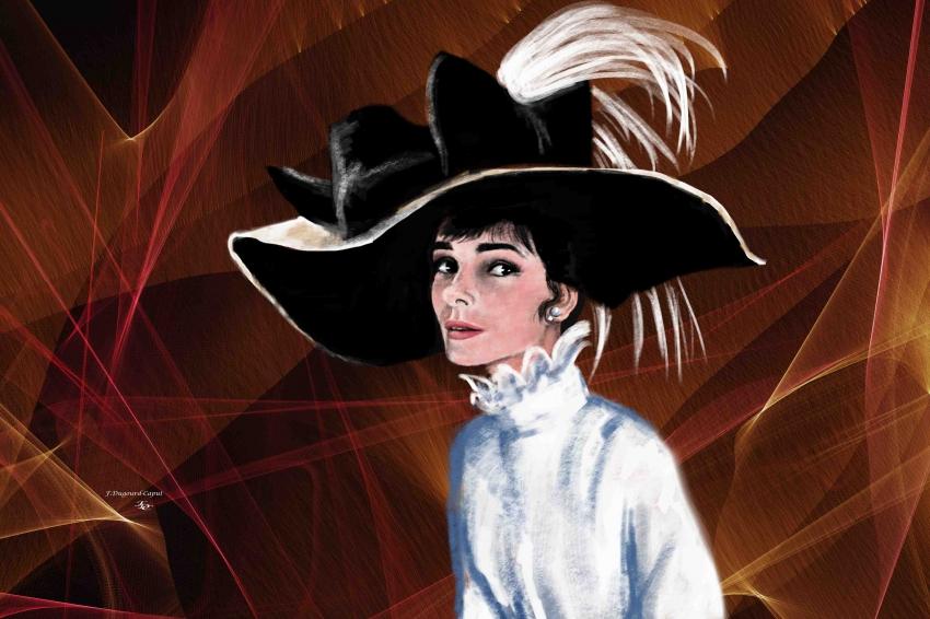 Audrey Hepburn by franca64120